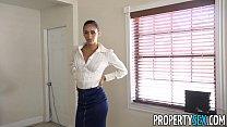 PropertySex - Dude fucks insane hot ass Latina real estate agent thumbnail