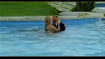 Image: Couple have Sex in Pool
