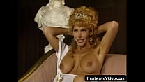 MILF with big tits gets fucked in a tent