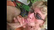 Hairy granny loves young dick video