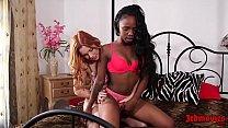 Edyn Blair, Sarah Banks Interracial Licking Session
