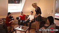 HITZEFREI Blonde German babe Helena Moeller dri... Thumbnail