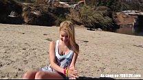 Petite Amateur Teen Girl Gives A Blowjob video