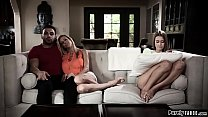 Stepmom catches stepteen with her new bf