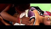 desimasala.co -  Horny girl smooching navel kiss romance on bed porn image