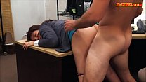 Busty milf fucked to bail out her hubby pornhub video