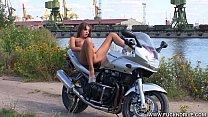 FUCKNDRIVE.COM: Crazy Biker Girl thumbnail