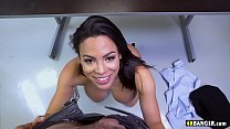 Absolutely Stunning MILF Luna Star gets the job pulling her tits