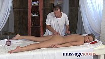 Massage Rooms Powerful g-spot orgasm for her little pussy Preview
