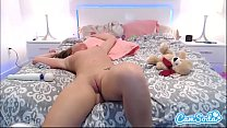 Maddy O Reilly big ass double fingering her tight pussy.