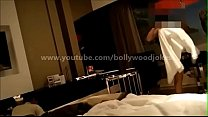 Newly wed Indian Wife desi dare in hotel enf Towel drop teasing room service boy thumbnail