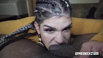 Blow job queen gives freak mob media a taste of...