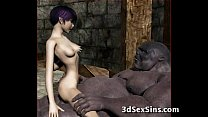 Screenshot Ogres Gangbang Hot 3d Babes