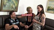 Hot German FFM threesome with horny mature babes Vorschaubild
