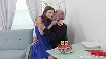 Old-n-Young.com - Sarah Kay - Happy birthday and happy orgasm!
