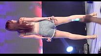公众号【福利报社】韩国女团超短牛仔热裤性感抖臀热舞