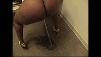 Ebony Candi Girl's Pee Piss Crush Promo