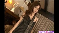 Mei Haruka Asian chick gets banged hard in a rowdy threesome Vorschaubild