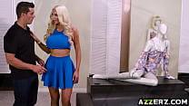 Nicolette Shea go crazy over a giant dick