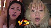 Japanese Fuck Toy VS Czech Cum Dumpster - Who would you like to creampie? - Featuring: Rae Lil Black & Marilyn Sugar