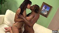 Hot Lesbians Jade Aspen And Shae Spreadz