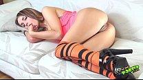 Leyla Black y sus bolas chinas anales