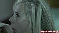 Gorgeous Bibi jones sucks dick and licks cum Vorschaubild