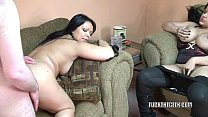 Latina housewife Valentina Lopez is banging a l...