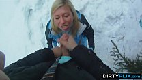 Dirty Flix - Snowboarder chick Rosemary Moyer loves cock
