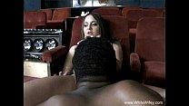 Chubby Brunette MILF Tries Black Cock - 69VClub.Com