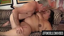 Jeffs Models - Latina SSBBW Lorelai Givemore Taking Cock Compilation Part 1