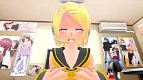 Rin x Len Kagamine Hentai MMD thumbnail