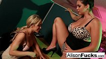 Capri Cavanni caught on a sexy call by her Boss Alison Tyler!