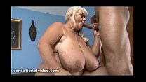 Big Tit GILF Loves to Blow and Suck Big Black C...