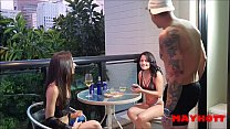 MAY HOTT MAKING A TASTY MENAGE WITH BRUNO H0T A...