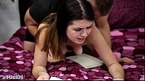 Anastasia Rose is handled by her daddy