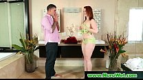 Big Dick Nuru Massage with Sexy Asian Masseuse 18