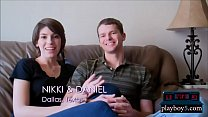 This new amateur swinger couple are natural swi...