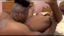 Big Booty Ebony  Gets Deeply Pumped In Black P mped In Black Porn Parody