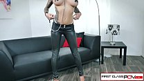 First Class POV - Watch Karma Rx take her mouth and pussy full of dick Image