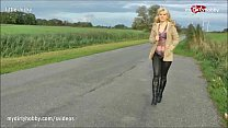 MyDirtyHobby - Driver gets an unexpected surprise from a HitchHiker