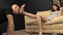 Worshiping Mistress Ashley's Goddess Feet