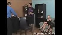 Disrespectful Male Punished by Stern Women - 69VClub.Com