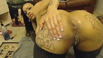 Light Skin Ebony Dildoing Her Booty Anal Play - Cam2Flirt.com