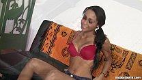 radha sex videos - Sexy Latina's First Hardcore Porno Shoot! thumbnail