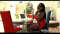 Ebony large butt porn