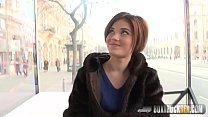 Hot Veronica Morre fucks in a public place thumbnail