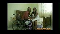 xxxmaal.com -Thisaravige Rathriya Hot scene with Old man