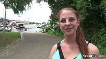 German Scout - Pia (18) bei Street Casting Anal gefickt Vorschaubild