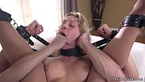 Blonde officer gagged and anal fucked's Thumb